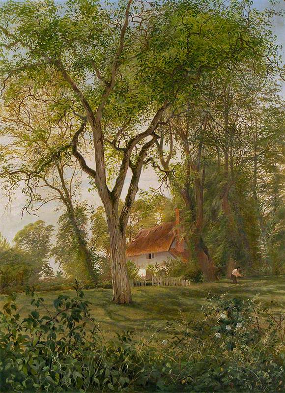 Landscape with a Thatched Cottage