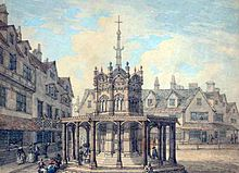 Old Market Cross, Norwich