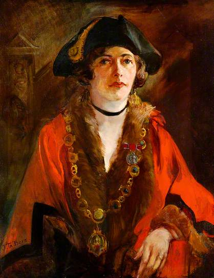 Dorothy Elsa Forbes Hope (1887-1949) Mayor of Southwold