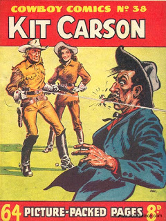 Cover of Cowboy Comic 38 by D. C. Eyles