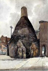 Spode Bottle Oven c.1790