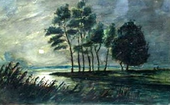 Trees in the Moonlight