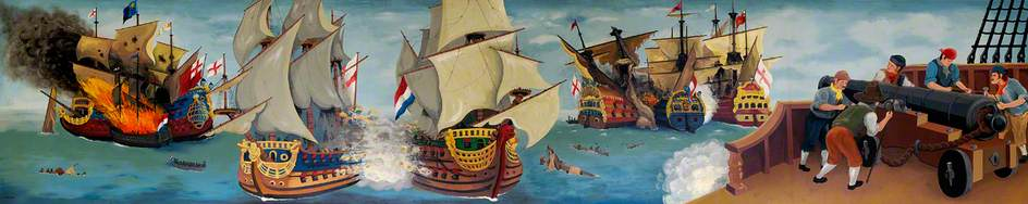 The Battle of Sole Bay, 6 June 1672