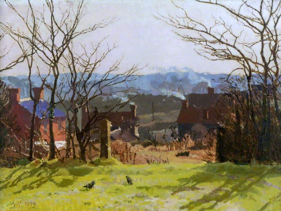 Winter Landscape, Suffolk