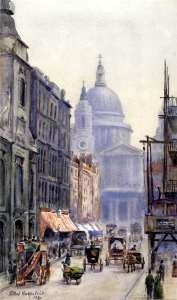 St Paul's Cathedral from Fleet Street