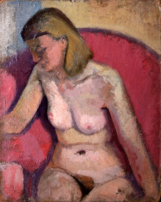 Nude Study of the Artist's Wife