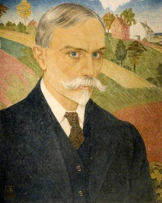 Joseph Edward Southall - self-portrait