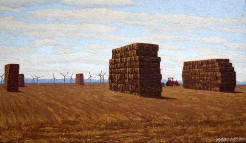 Big haystacks