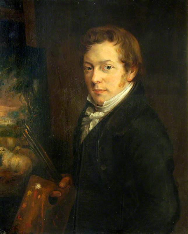 Robert Mendham - self-portrait