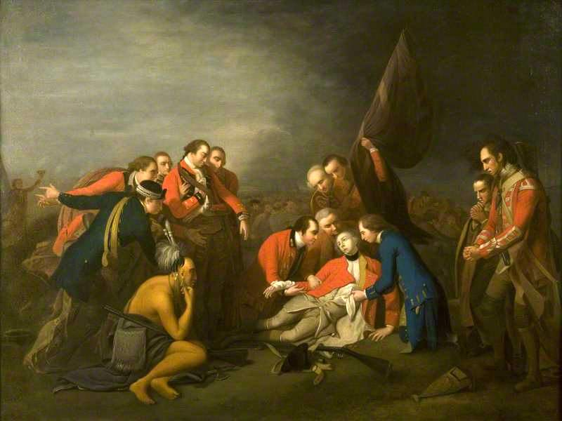 The Death of Wolfe (after Benjamin West)