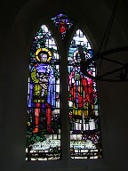 Figures of St Edmund and St Felix