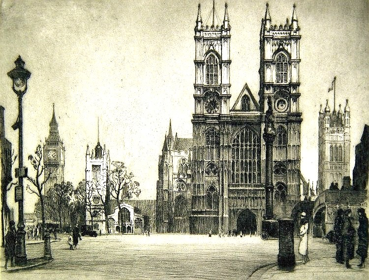 View of Westminster Abbey