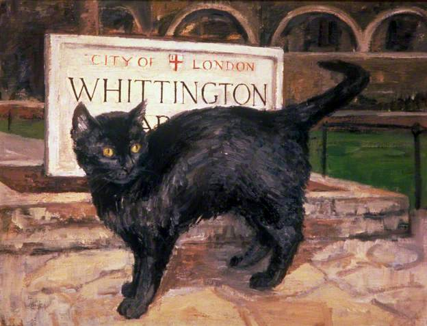 The Cat in Whittington Gardens, London
