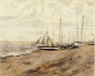 Beach with Boats