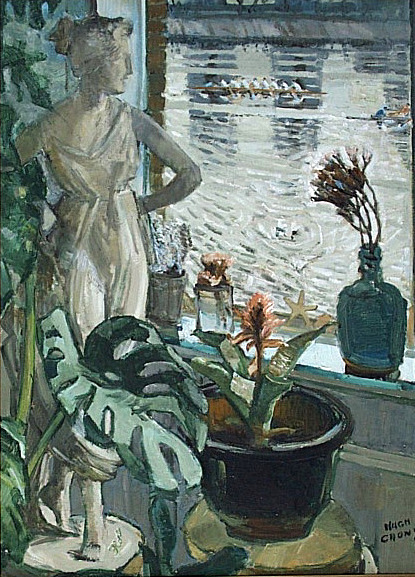 Thames Window with Flora