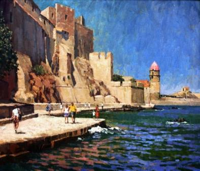 Waterfront at Collioure