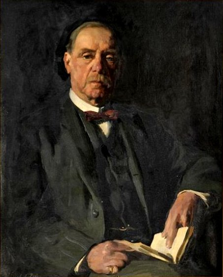 Portrait of Herbert J Harteap Esq