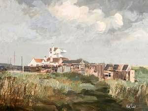 Houses at Aldeburgh, Suffol