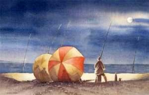 The Striped Umbrella