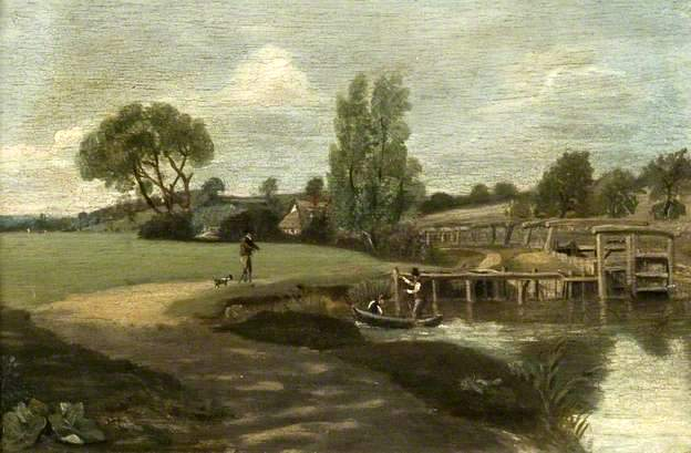 Flatford Lock, Suffolk