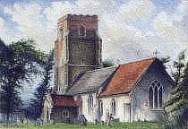 Blaxhall Church, Suffolk