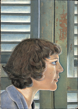 Portrait of Kitty by Lucien Freud