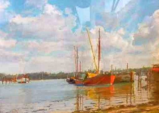Incoming Tide, Pin Mill