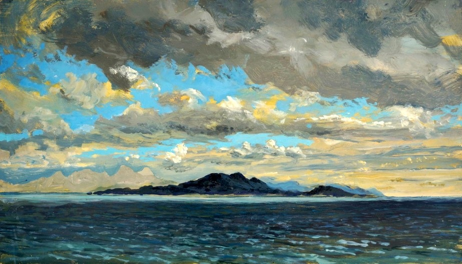 Colonsay in Cloud Shadow