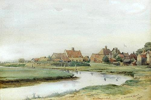 View of Walberswick, Suffolk