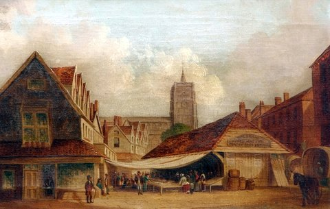 Old Fish Market, Norwich