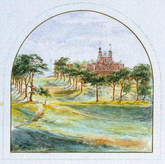 View of the Royal Observatory, Greenwich