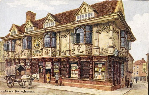 The Ancient House, Ipswich