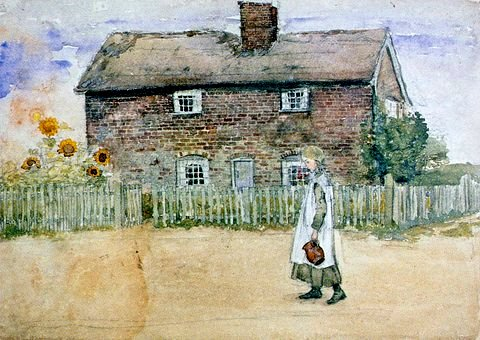 Church Cottages, Walberswick