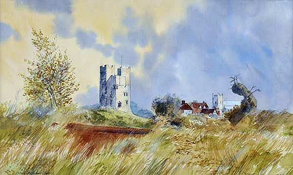 Orford Castle and Church