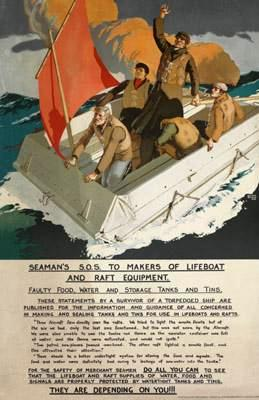 Seaman's S.O.S. to Makers of Lifeboat and Raft Equipment