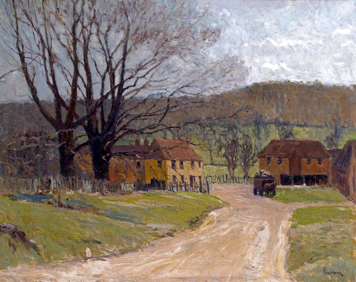 Village Landscape, Winter