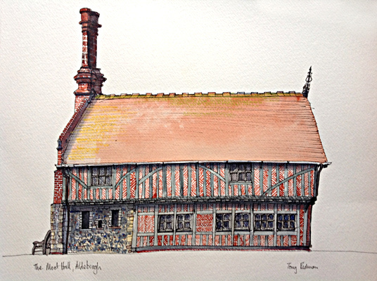 The Moot Hall, Aldeburgh
