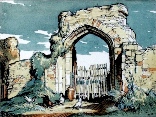 The Priory Gateway - Dunwich
