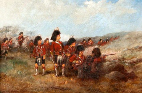 Seaforth Highlanders in Field Day Order