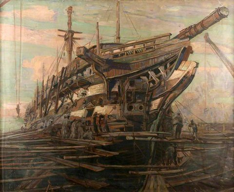 The Restoration of HMS 'Implacable'