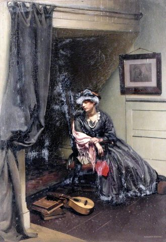 Portrait of a Lady in an Interior