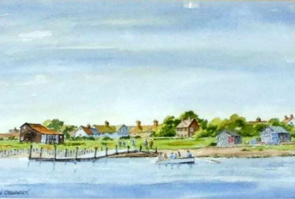 Walberswick from Black Shore Southwold