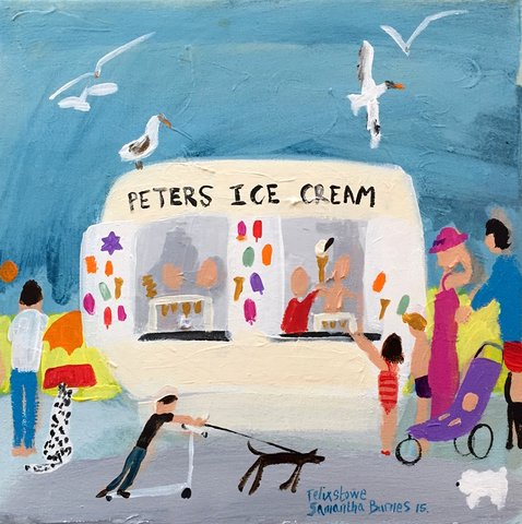 'Peter's Ice Cream'  Felixstowe, Suffolk