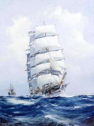 The Square-Rigged Wool Clipper 'Argonaut'