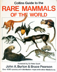 Rare Mammals of the World