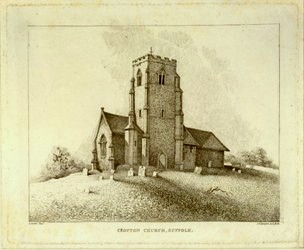 Clopton Church, Suffolk