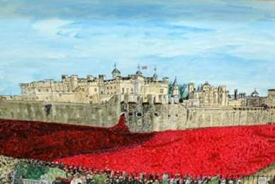 Tower of London Poppy Tribute