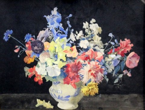 Still Life - Flowers in a Vase