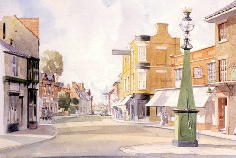 Southwold High Street, from the Market Place