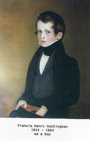 Francis Huntington as a Boy